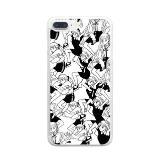 だんしんぐ2 Clear smartphone cases