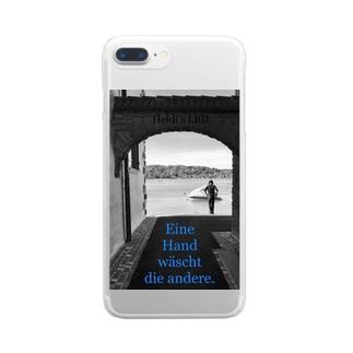 スイス・シック01 Clear smartphone cases