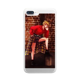 シーミア Clear smartphone cases