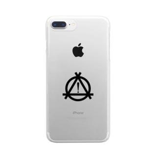 ヒヤリ・ハット(BASIC) Clear smartphone cases