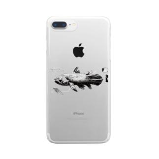 シーラカンス Clear smartphone cases