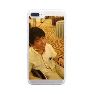 自撮りグッズ Clear smartphone cases