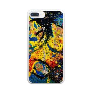 八咫烏 Clear smartphone cases