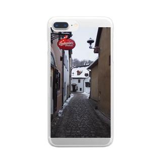 クルムロフの冬 Clear smartphone cases