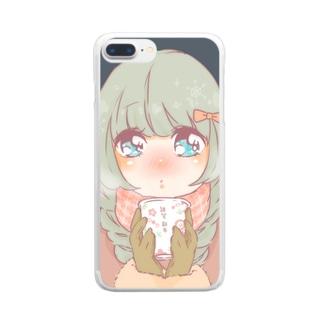 謹賀新年あまざけ Clear smartphone cases