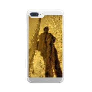 人影 Clear smartphone cases
