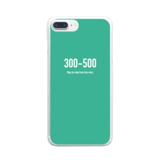 POINTS 300-500 Clear smartphone cases
