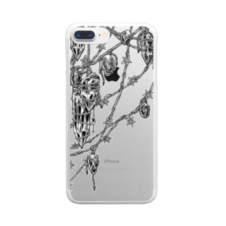 Circle-earthborn. Clear smartphone cases