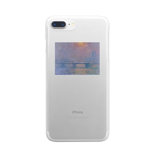 monet Clear smartphone cases