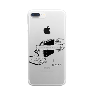 honneオリジナルシリーズ4 Clear smartphone cases