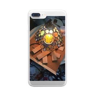 光の中に Clear smartphone cases