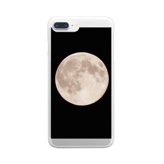 満月 Clear smartphone cases