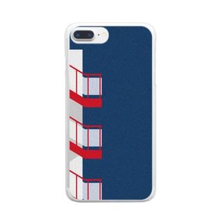 マンションを上がれば Clear smartphone cases