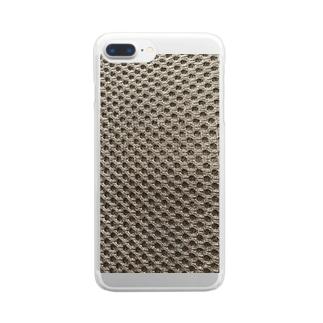 素材 Clear smartphone cases