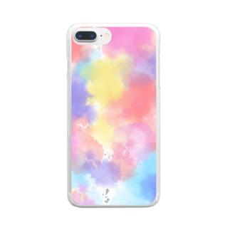 彩 Clear smartphone cases