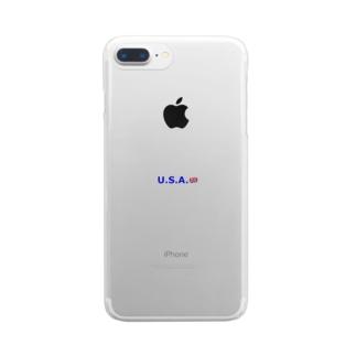 あたまのわるいひと Clear smartphone cases