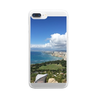 OVERSEAS  Hawaii Clear smartphone cases