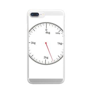 重さの勉強 はかり編 Clear smartphone cases