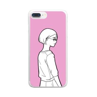 恋の病 Clear smartphone cases