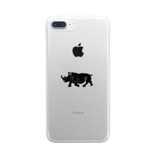 サイコウくん2 Clear smartphone cases