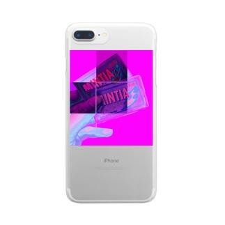 ヤクチュー Clear smartphone cases