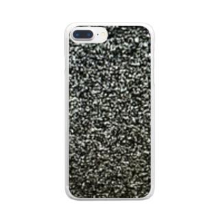 砂嵐 Clear smartphone cases