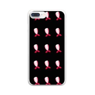 MUKIEBI 集合 Clear smartphone cases