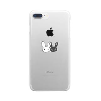 二兎。 Clear smartphone cases