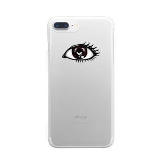 にっちっち大好き倶楽部 Clear smartphone cases