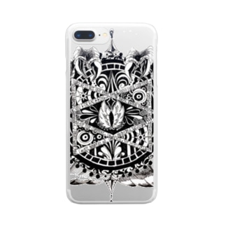 魔方陣 Clear smartphone cases