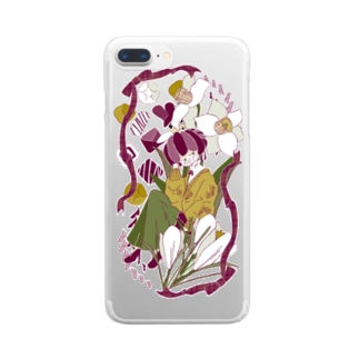 2月の彼女 Clear smartphone cases