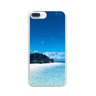 MIRI. BEACH Clear smartphone cases