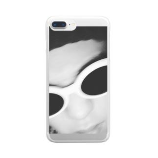 おれさま Clear smartphone cases