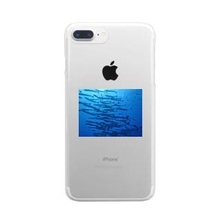 バラクーダ Clear smartphone cases