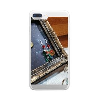 魔法魔術学校の宝石 Clear smartphone cases