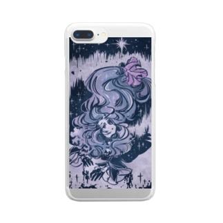 かでぃくんグッズ2 Clear smartphone cases