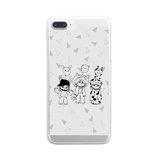 Girls Clear smartphone cases