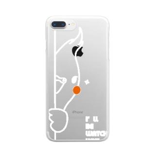 オカメインコ Clear smartphone cases