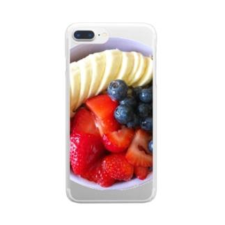 ALOHA VITAMIN Clear smartphone cases