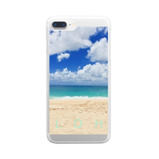 FEEL ALOHA Clear smartphone cases