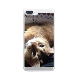 そまちゃん Clear smartphone cases