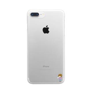 ぼっちちゃん Clear smartphone cases