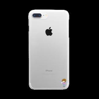 ぼっちチャンbrandのぼっちちゃん Clear smartphone cases
