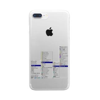 窓98 Clear smartphone cases