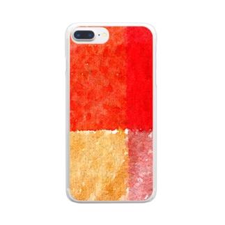 暖色 Clear smartphone cases