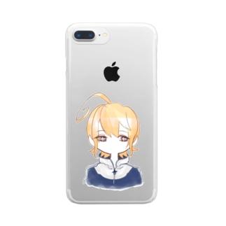 ラフ神父 Clear smartphone cases