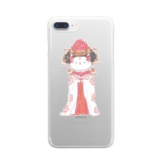 武則猫 Clear smartphone cases