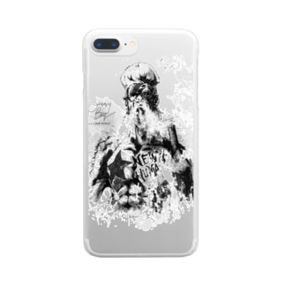 neosry2097 ミュージックグッズDBコスチューム Clear smartphone cases