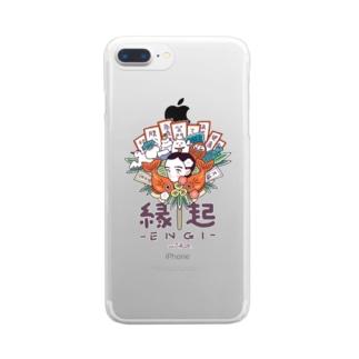 縁起 Clear smartphone cases