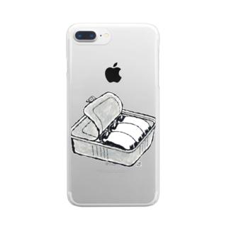 ペンギンCAN Clear smartphone cases
